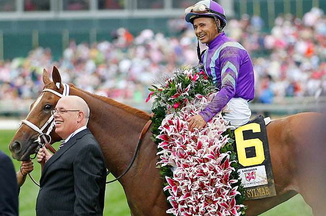 38-1 longshot Princess of Sylmar was one of four fillies trained by Todd Pletcher for the Kentucky Oaks.
