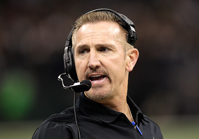 Steve Spagnuolo comes to Baltimore from New Orleans, where he was the Saints' defensive coordinator.