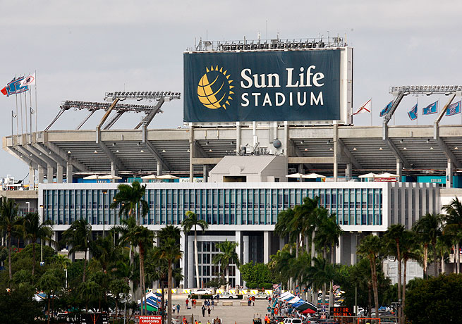 Sun Life Stadium may be deemed unsuitable for hosting a Super Bowl if repairs are not made.