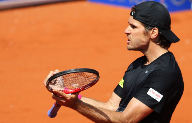 Tommy Haas needed less than 90 minutes to oust Ivan Dodig, who caused three upsets on his way to the semifinal.