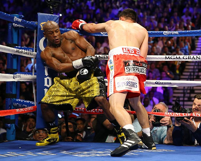 Mayweather was faster and stronger than Guerrero.