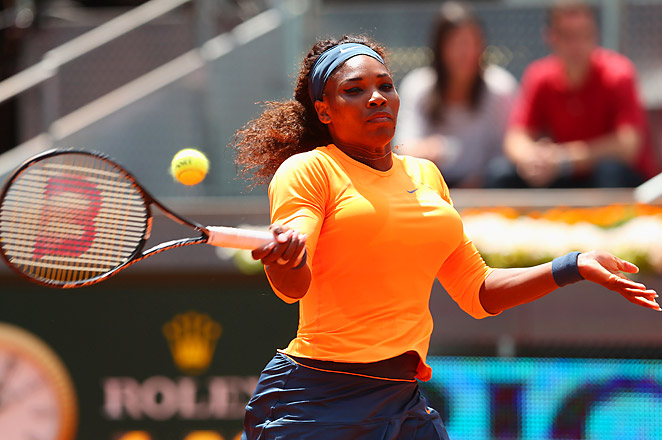 Defending champion Serena Williams will now face Lourdes Dominguez-Lino of Spain in the next round.