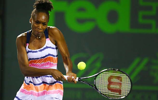 Venus Williams is ranked No. 21, making the semifinals of two tournaments this year.