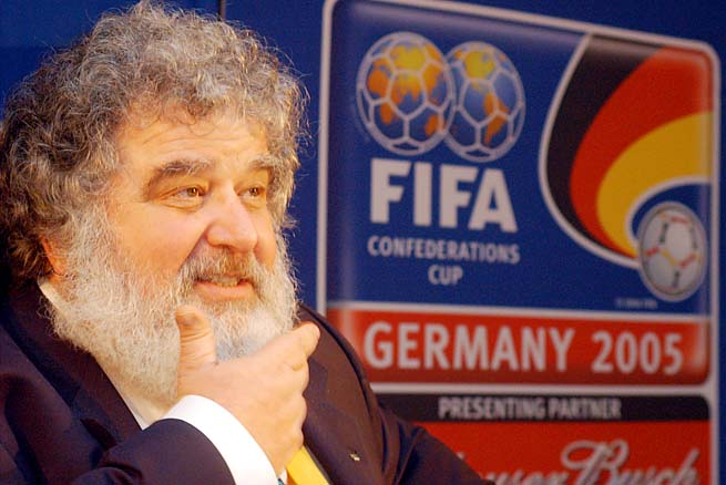 Chuck Blazer had previously said he'll be giving up his seat on FIFA's ruling board when his term expires this month.