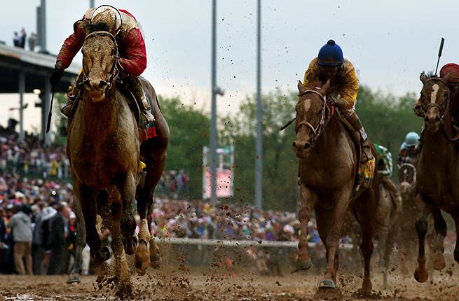 Golden Soul (right), who finished second to Orb in the Kentucky Derby as the 35-1 long shot, will likely race next at the Belmont Stakes.