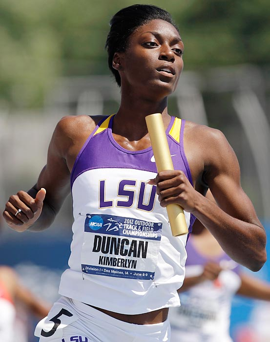 Notable: As if winning both the NCAA Women's Track Athlete of the Year and Bowerman Awards wasn't enough, she has maintained an incredible 4.85 GPA.