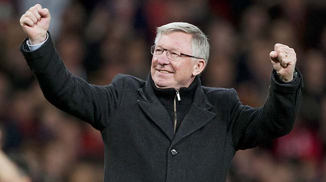 Sir Alex Ferguson guided Manchester United to its 13th title under his reign this year.