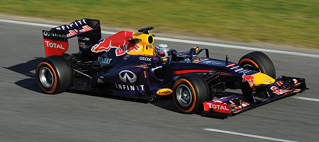 Sebastian Vettel, the youngest triple champion in F1 history, has 77 points so far.
