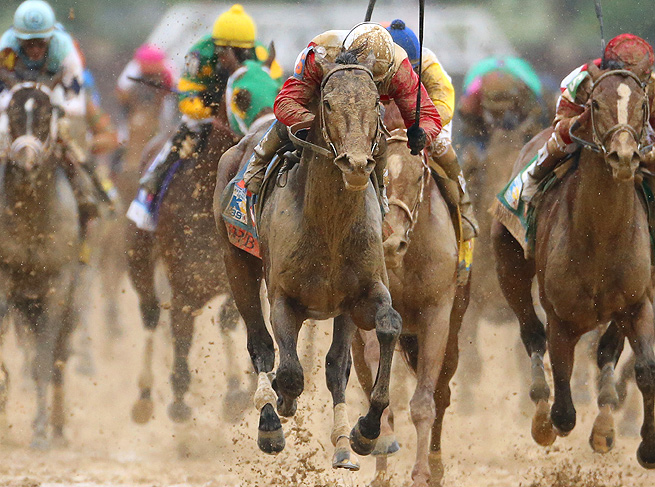 Orb conquered a relentlessly muddy track on Saturday to win the 2013 Kentucky Derby.