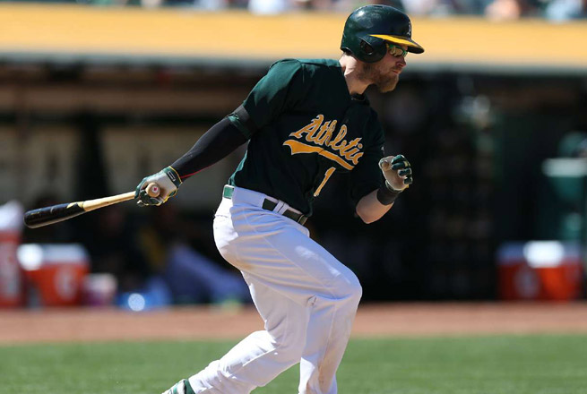 Josh Reddick hurt his wrist attempting to catch a foul pop-up back in April in a game against Houston.
