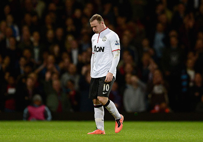 Wayne Rooney has said that he wishes to leave Manchester United, where he has played since 2004.