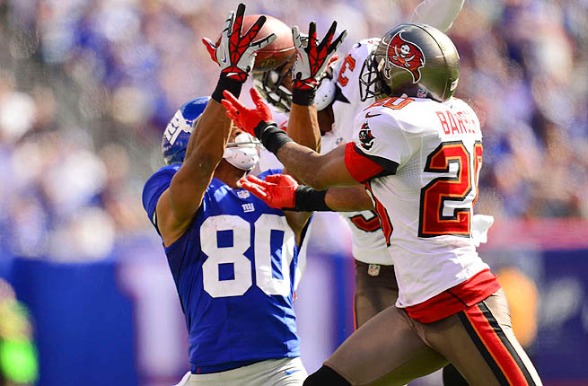 Ronde Barber is the only player in NFL history with 40-plus interceptions and 25 or more sacks.