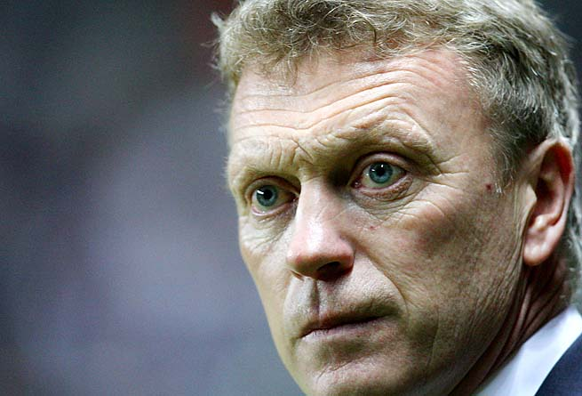 Scotland's David Moyes, 50, has managed Everton since 2002.