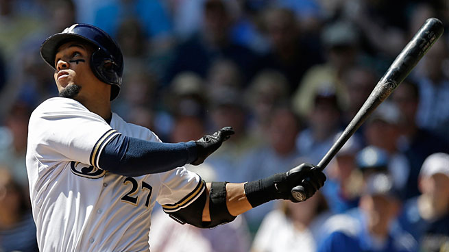 Carlos Gomez has added award-worthy offensive production to his always stellar defense.