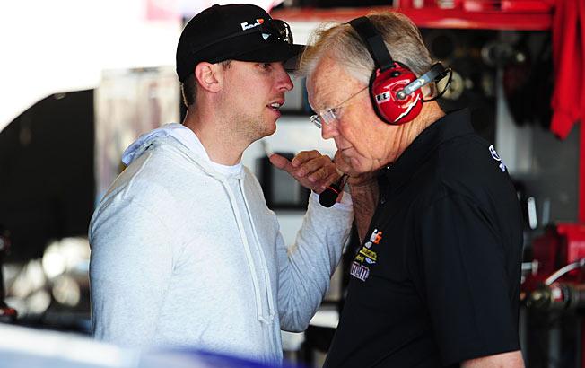 Denny Hamlin expects to drive Joe Gibbs' No. 11 Toyota for the entire race at Darlington.