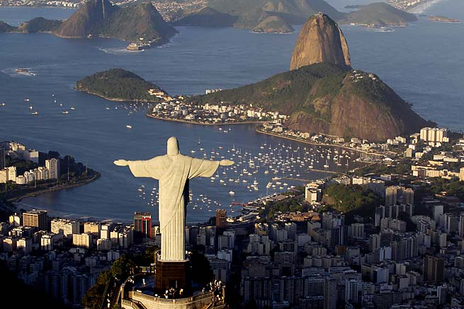 Brazil will host the 2014 World Cup and, for the first time, the Olympics in 2016.