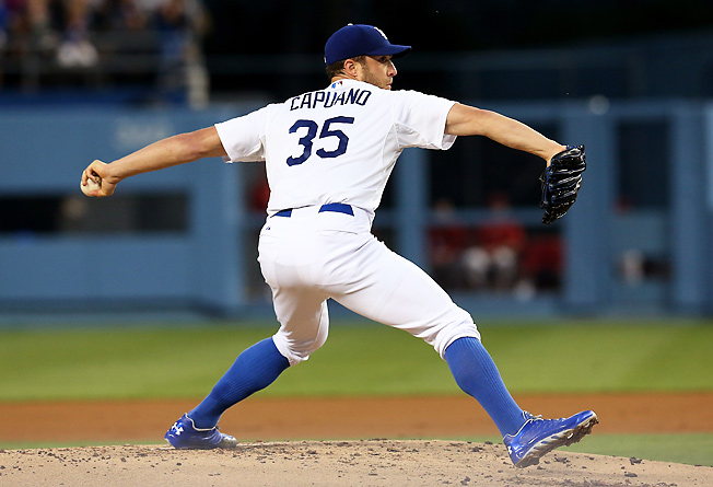 Dodgers pitcher Chris Capuano has struggled this season, but could find a cure against the Marlins.
