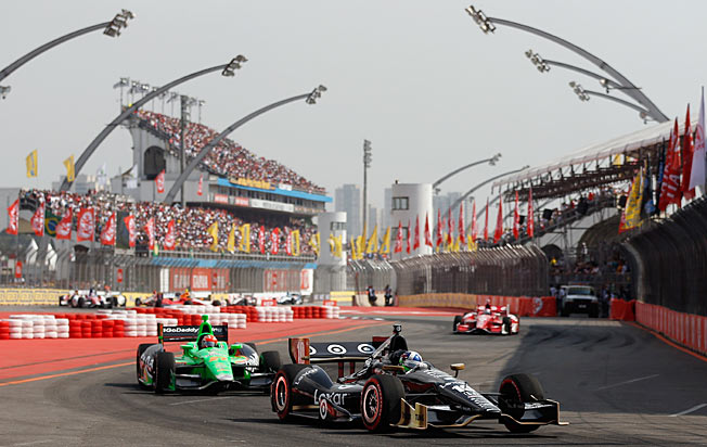 Dario Franchitti believes that IndyCar has been staging great races that deserve to be seen.
