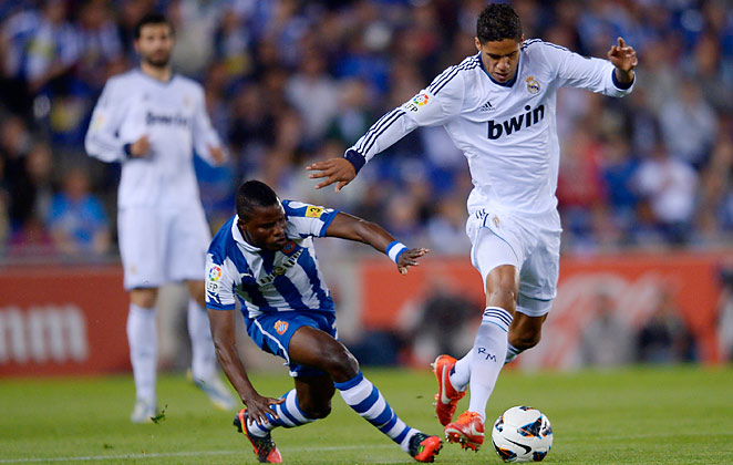 The 20-year-old Raphael Varane broke into the Real Madrid first team in a solid season.