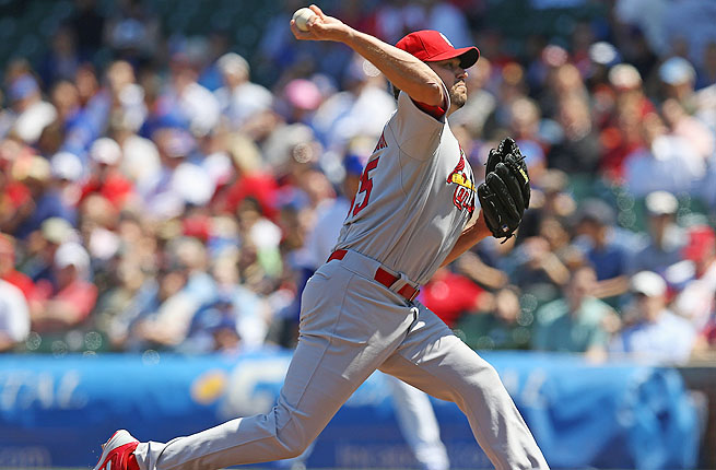 The 35-year-old Jake Westbrook is 2-1 with a 1.62 ERA in seven starts for the Cardinals this season.