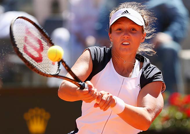 Great Britain's Laura Robson can get a seed at Wimbledon if she has a strong spring.