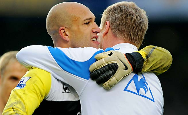 Tim Howard will be playing against David Moyes in the Premier League starting next season.