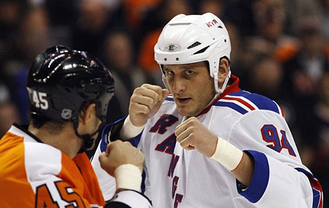The late Derek Boogaard, one of the NHL's toughest fighters, was addicted to painkillers.
