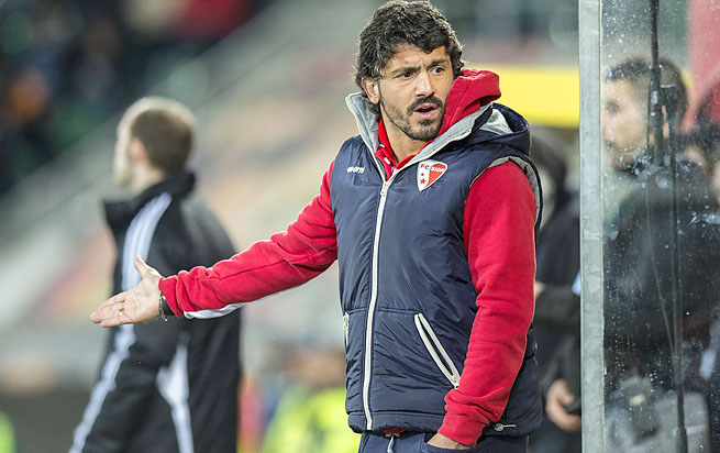 "Gennaro Gattuso was known as the ""Snarling Dog"" during his Italian international days."