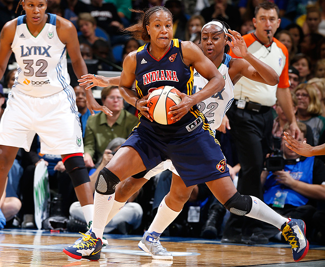 Tamika Catchings, who won the WNBA FInals MVP award last season, thinks the Fever will again be the underdogs.