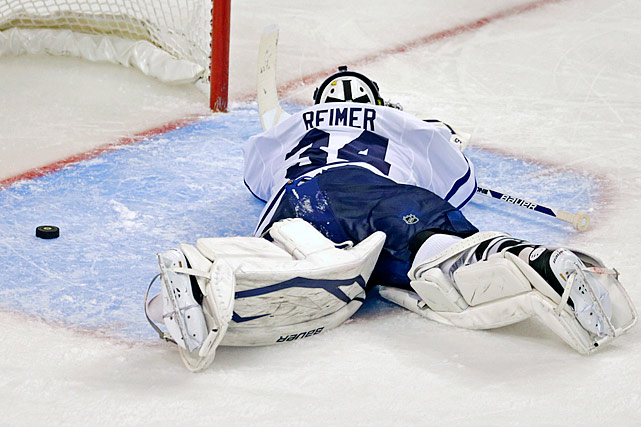 In 2013, the Maple Leafs' first playoff appearance in nine years was met with jubilation, parties and great hope in Toronto. Alas, the team took their long-suffering fans to a first round Game 7 against the Boston Bruins before suffering an epic collapse in the final two minutes before losing in overtime. This proud old Original Six franchise has endured many bouts with futility over the years. Here are some of the worst . . .