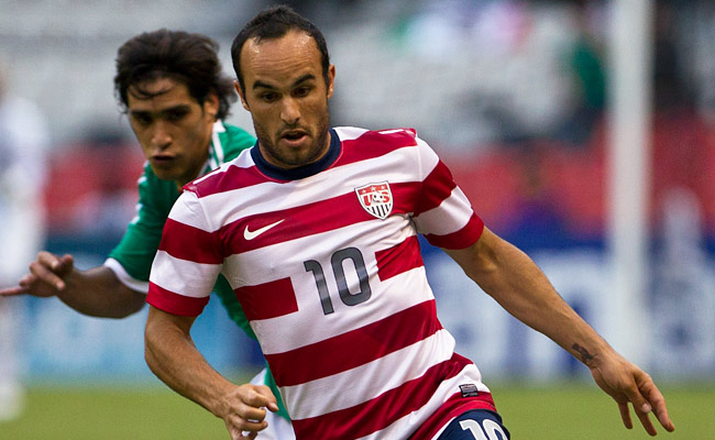 Landon Donovan has not played for the U.S. since a 1-0 friendly victory against Mexico in August.