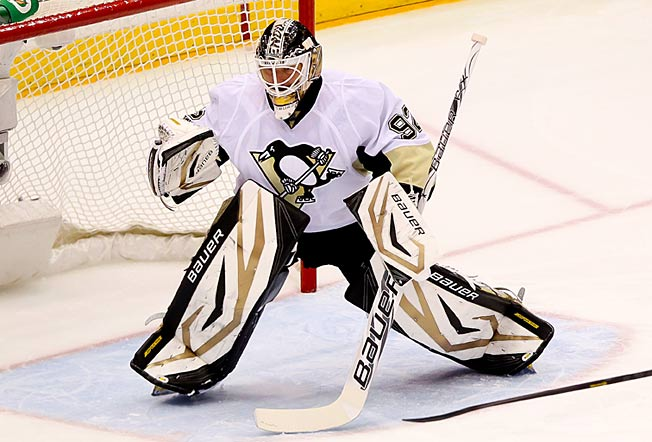 Backup Tomas Vokoun seems to bring out the best in the Penguins' defense.