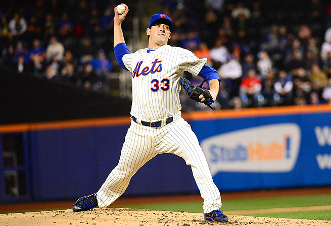 Matt Harvey, who boasts a 1.44 ERA and 62 strikeouts in 56.1 innings pitched, has yet to record a loss.