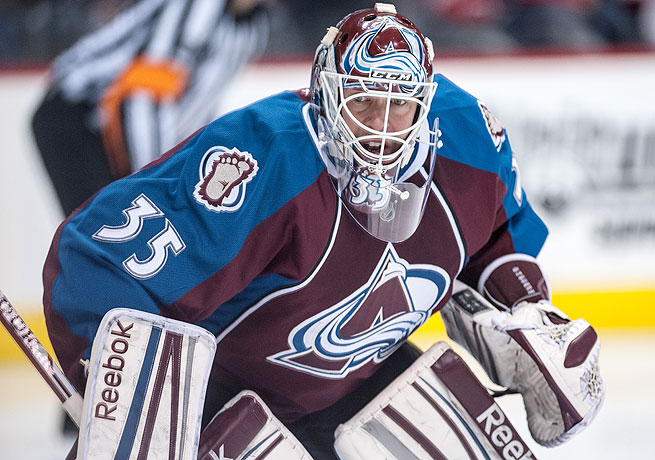 Fan-favorite Jean-Sebastien Giguere posted a 5-4-4 record with the Avalanche this season.
