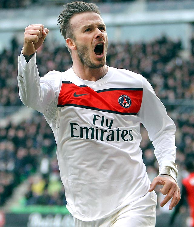 "Beckham joined French superclub Paris Saint-Germain in February. As of May 16 he had started just four games for the club, including a Champions League quarterfinal match against Barcelona. The 38-year-old Beckham said Thursday, May 16, he will retire at the end of the season. ""I'm thankful to PSG for giving me the opportunity to continue but I feel now is the right time to finish my career, playing at the highest level,'' the former England captain said in a statement."