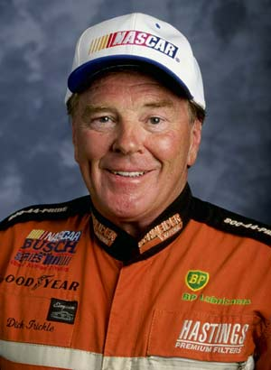 Dick Trickle was known for his prowess on short tracks and had about 1,000 wins.