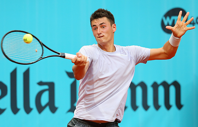 Despite dealing with his father's legal issues, Bernard Tomic is expected to play the French Open.
