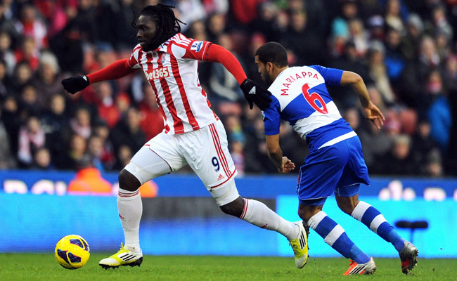 Stoke City's Kenwyne Jones reportedly smashed the windshield of teammate Glenn Whelan's car.