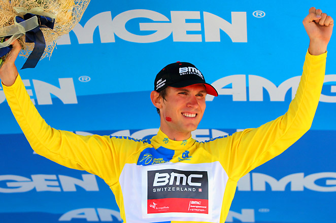 Van Garderen has a slight lead over three-time world time trial champion Michael Rogers with two stages left.