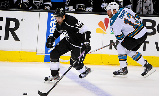 Torres was suspended for the rest of the series against the Kings after his Game 1 hit on Jarret Stoll.