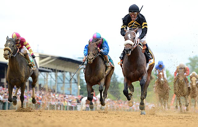 Gary Stevens, who came out retirement this year, won the Preakness for the third time.