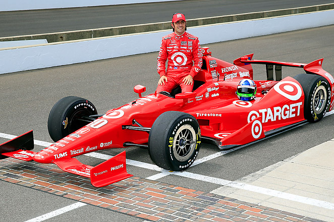Franchitti, a three-time Indy 500 winner, will be starting the 500 from the middle of the sixth row.