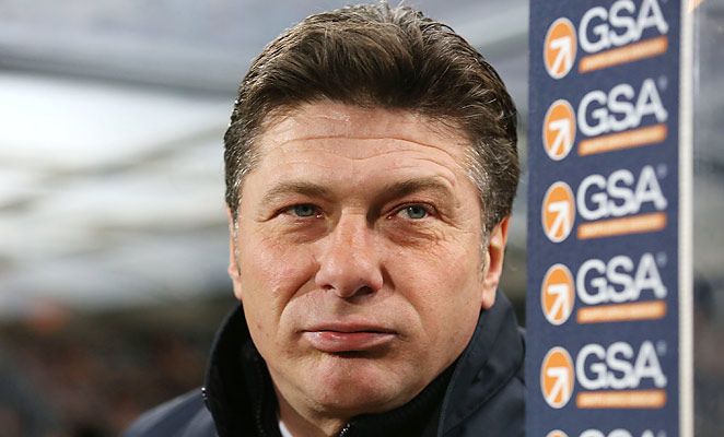 Walter Mazzarri resigned after leading Napoli to a second place in this year's Serie A.