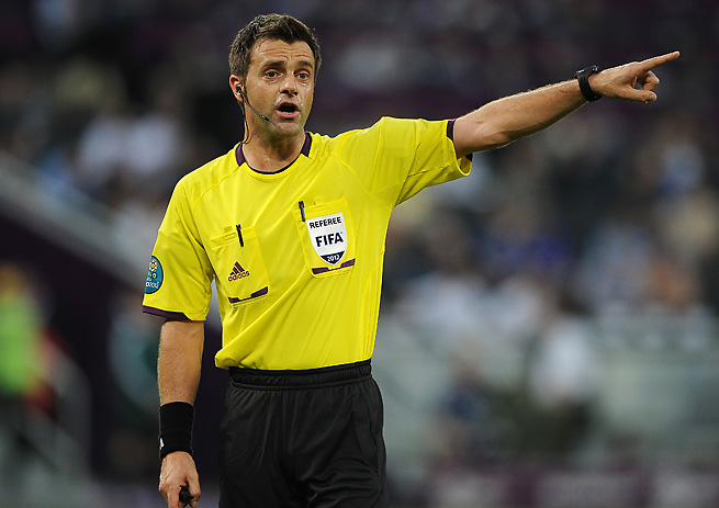 Nicola Rizzoli has refereed several of Europe's top matches over the past few seasons.