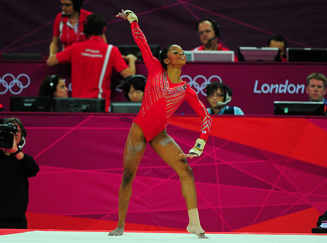 Gabby Douglas' coach Liang Chow would not put a solid timetable on her return to competition.