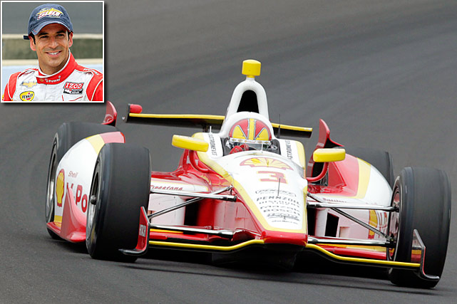 "The Brazilian became the first driver in Indy 500 history to win his first two starts (2001 and '02), and he finished second to Penske teammate Gil de Ferran by .2990 seconds in a bid for three straight in 2003. Castroneves eventually added his third victory in 2009. He'll be trying to join A.J. Foyt, Al Unser and Rick Mears as Indy's only four-time winners. Tied for 12th on IndyCar's all-time list with 27 victories, Castroneves is known for climbing the fence to celebrate his wins, and he can dance, too. He was the champion of ABC's ""Dancing with the Stars"" with partner Julianne Hough in 2007. <italics>-- Tim Tuttle</italics>"
