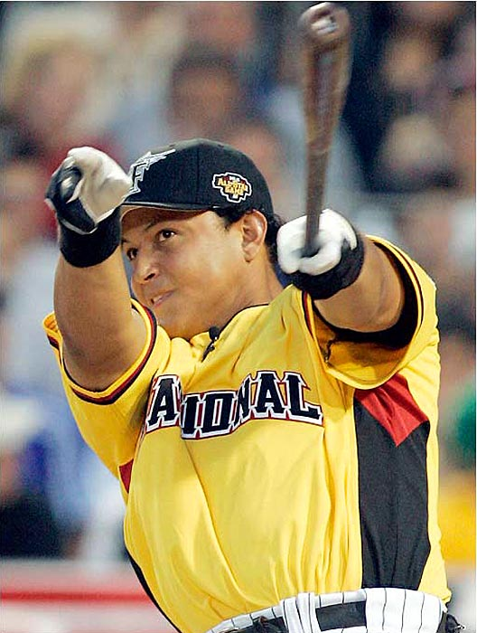 Cabrera was named to the Home Run Derby for the first time and set the early pace with nine homers. He had six in the second round, but it wasn't enough to reach the finals.