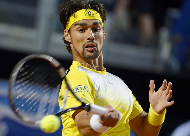 Fabio Fognini, who made the semifinals of Monte Carlo, is ranked No. 29.