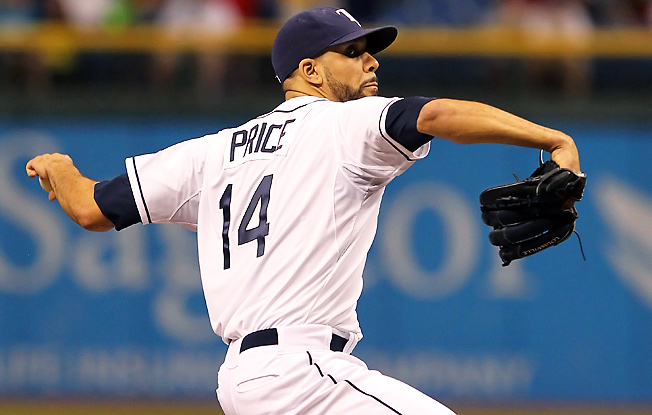 David Price was supposed to be a fantasy ace, but was struggling this season before getting injured.