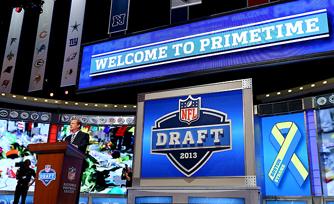 The NFL draft is a major event on spring's sports calendar, but it only recently became that way.